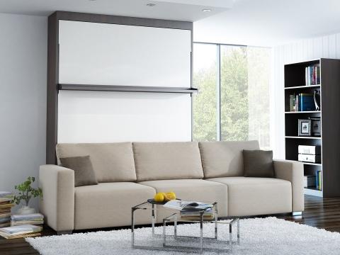 Schrankbett Wandbett mit Sofa Leggio Linea MK I STD dlugie Premium