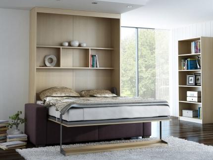 Schrankbett Wandbett mit Sofa Leggio Linea MK I STD Basic