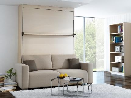 Schrankbett Wandbett mit Sofa Leggio Linea MK I STD Premium