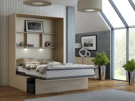 Schrankbett Wandbett mit Sofa WBS 1 Classic Premium