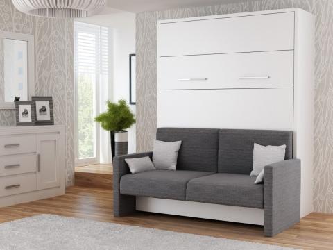wandbetten mit sofa premium. Black Bedroom Furniture Sets. Home Design Ideas