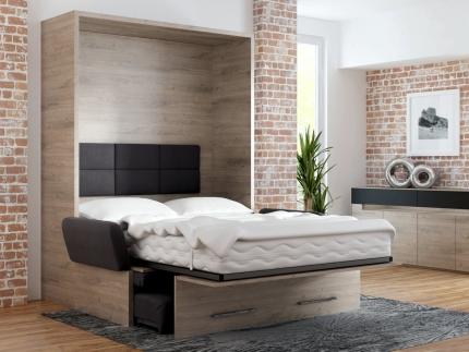 Schrankbett Wandbett mit Sofa WBS 1 Soft Premium