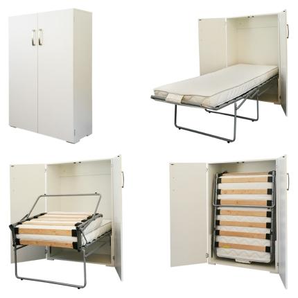 Schrankbett Wandbett Wall-Bed Box Claims