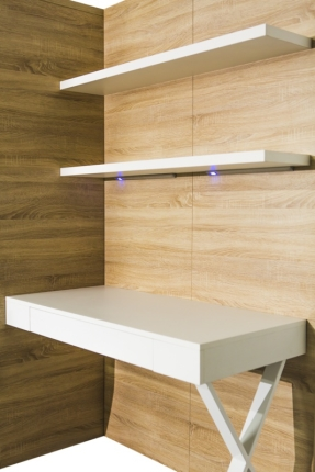 Wandpaneel mit Schreibtisch Office Advantage