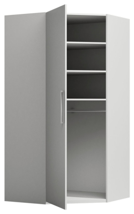Eckkleiderschrank Modul M-F Premium