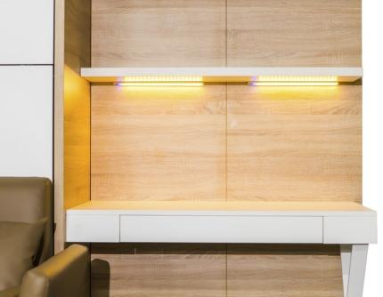LED Beleuchtung für Wandbetten und Office Panell Claims