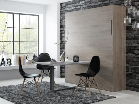 Schrankbett Wandbett mit oder ohne Esstisch Grande Table Claims