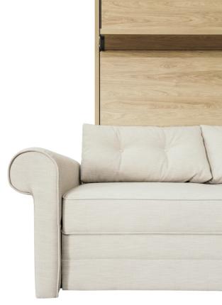 Schrankbett Wandbett mit Sofa Leggio Avangarde Dlugie XL Advantage