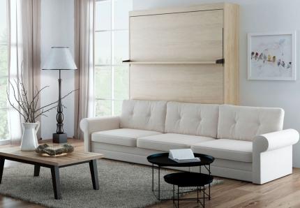 Schrankbett Wandbett mit Sofa Leggio Avangarde Dlugie XL Claims
