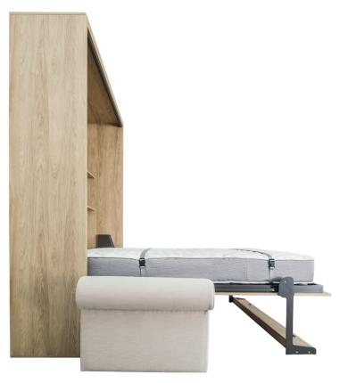 Schrankbett Wandbett mit Sofa Leggio Avangarde Dlugie XL Premium