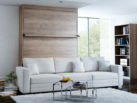 Schrankbett Wandbett mit Sofa Leggio Linea MK II STD dlugie Premium