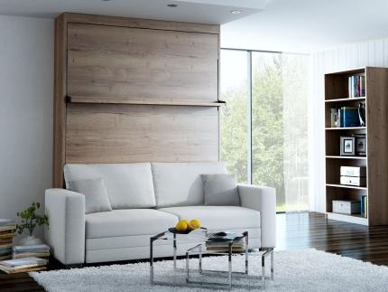 Schrankbett Wandbett mit Sofa Leggio Linea MK II STD Claims
