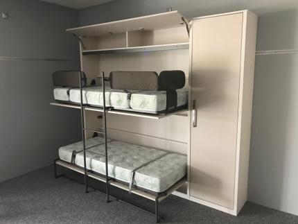 Schrankbett Wandbett Doppelstockbett DUO MK2 Premium
