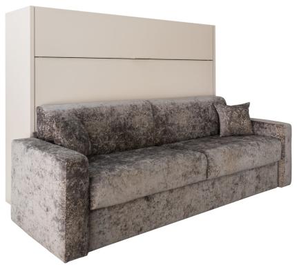 Schrankbett Wandbett mit Sofa Livello Basic