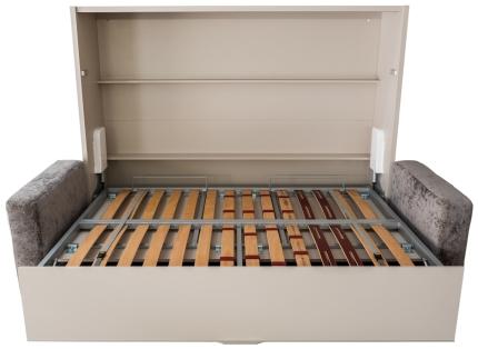 Schrankbett Wandbett mit Sofa Livello Premium