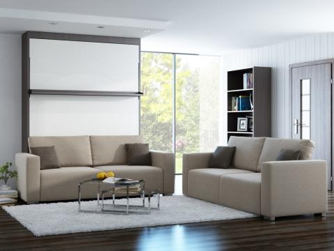 Schrankbett Wandbett Leggio Linea MK I STD-STD Free Premium