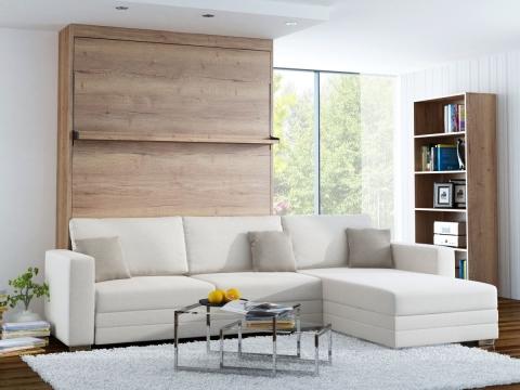 Schrankbett Wandbett Leggio Linea MK II mit Recamiere Premium