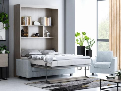 Schrankbett Wandbett mit Sofa Leggio Alto STD Advantage