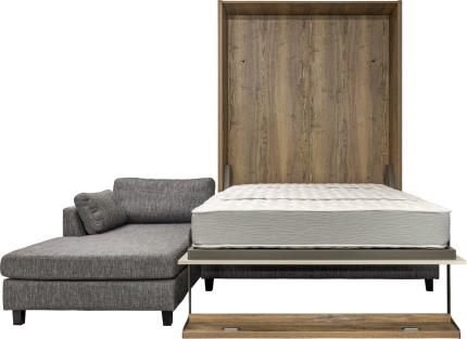 Schrankbett Wandbett mit Ecksofa Leggio Alto LW Premium